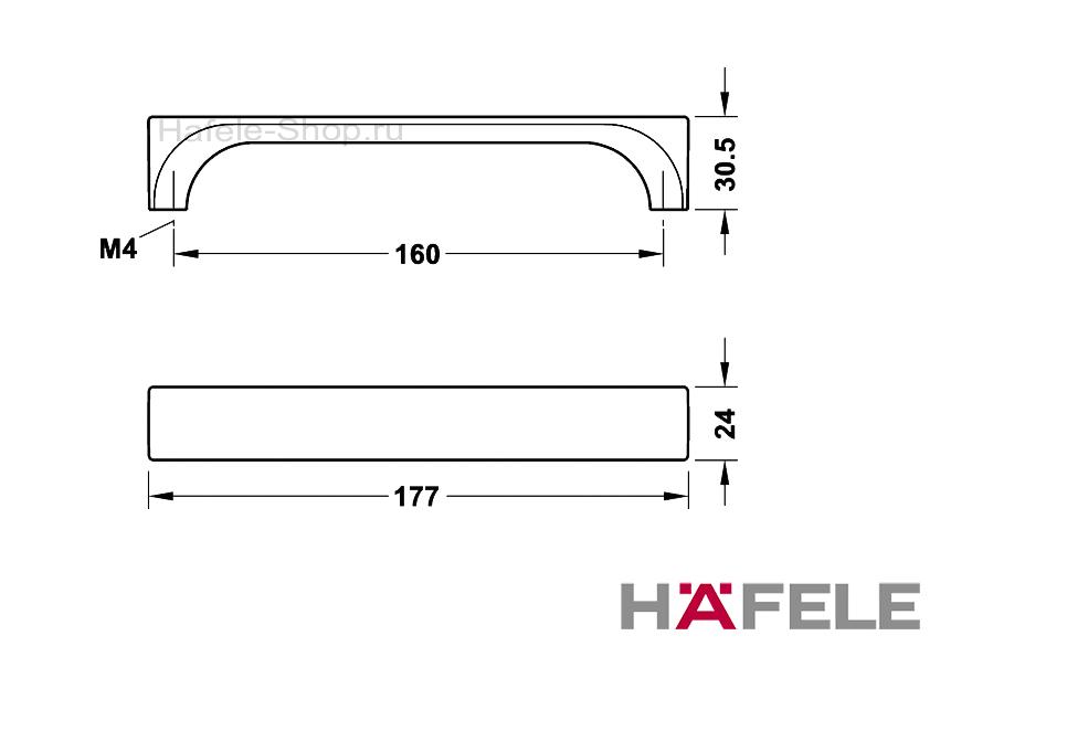 Ручка винтажная, плетеный холст, цинковое литьё, 177 х 30,5 мм