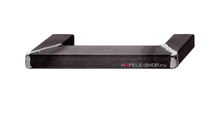 Мебельная ручка, цвет состаренное железо, сварные углы, длина 190 мм.