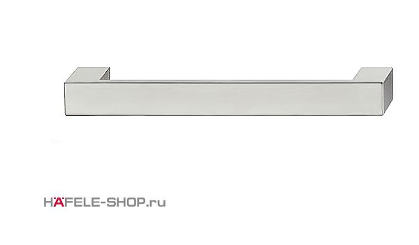 Мебельная ручка цвет хром полированный   164x25 мм