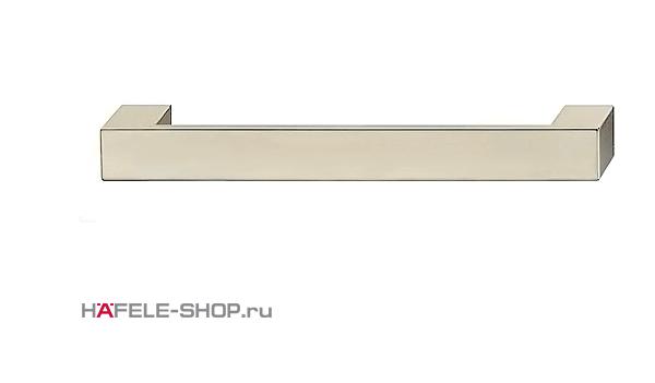 Мебельная ручка цвет никель сатиновый  164x25 мм