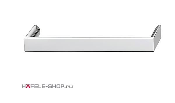 Мебельная ручка цвет хром полированный  168x30 мм