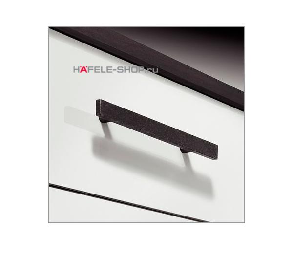 Мебельная ручка, цвет состаренное железо, длина 188 мм.
