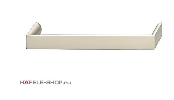 Мебельная ручка цвет никель ошкуренный матовый  168x30 мм