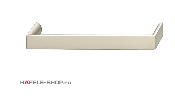 Мебельная ручка цвет никель ошкуренный матовый  328x30 мм