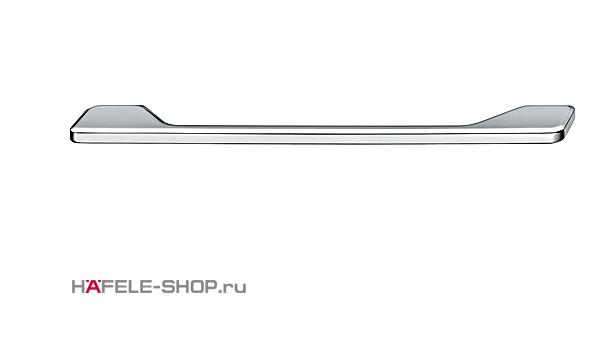 Мебельная ручка цвет хром полированный  174x29 мм