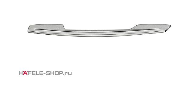 Мебельная ручка цвет нержавеющая сталь  192x32 мм