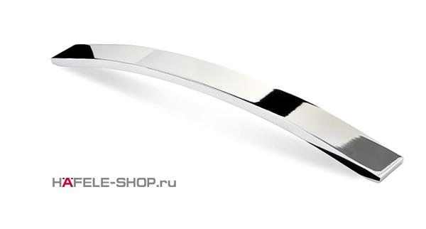 Мебельная ручка цвет хром полированный  320 мм