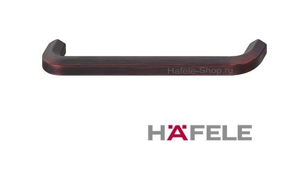 Ручка мебельная, цвет медь состаренная, длина 170 мм, между винтами 160 мм
