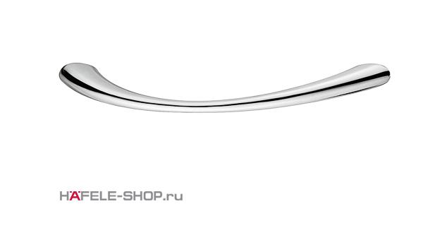 Мебельная ручка цвет хром полированный 158x29 мм