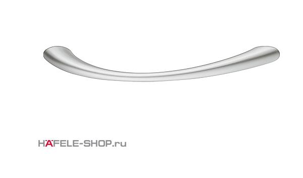 Мебельная ручка цвет хром матовый  113x24 мм