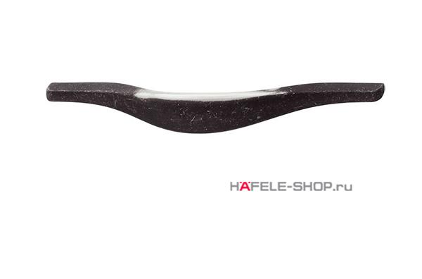 Мебельная ручка, цвет состаренное железо, углы ошкуренные, длина 252 мм.