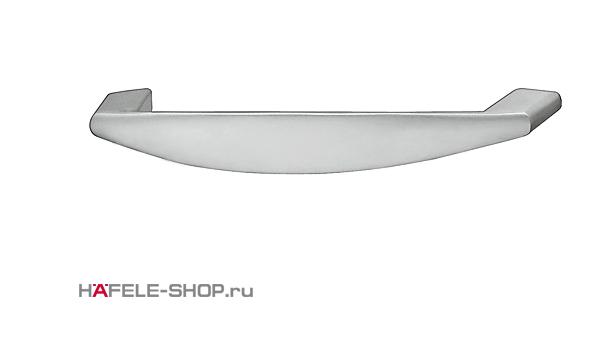 Мебельная ручка цвет хром матовый  142x27 мм