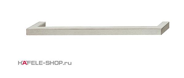 Мебельная ручка скоба нержавеющая сталь матовая  104x25 мм