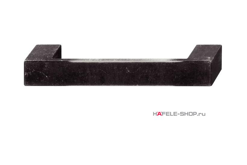 Мебельная ручка, цвет состаренное железо, длина 164 мм.
