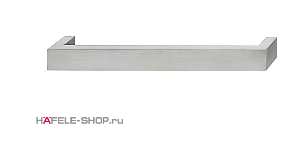 Мебельная ручка скоба нержавеющая сталь матовая    205x38 мм