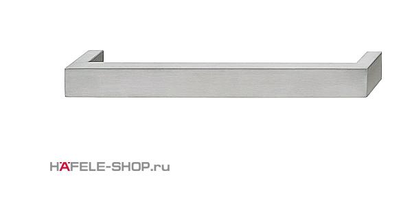 Мебельная ручка скоба нержавеющая сталь матовая    333x38 мм