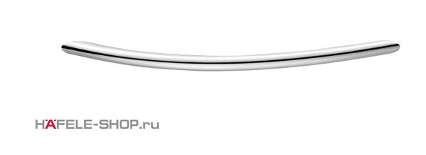 Мебельная ручка скоба цвет хром полированный 111x30 мм
