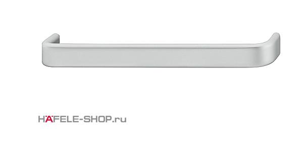 Мебельная ручка  алюминий цвет серебристый 200x35 мм