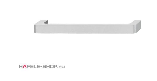 Мебельная ручка  алюминий матовая 138x27 мм