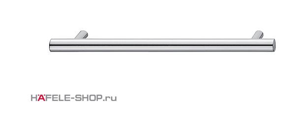 Мебельная ручка рейлинг цвет хром полированный 136x35 мм