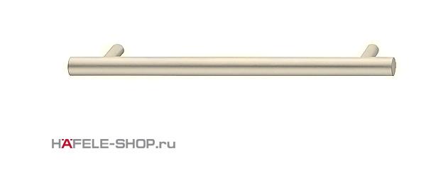 Мебельная ручка рейлинг цвет никель матовый  168x35 мм