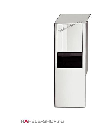 Мебельная ручка врезная цвет хром полированный  80 x 29 мм