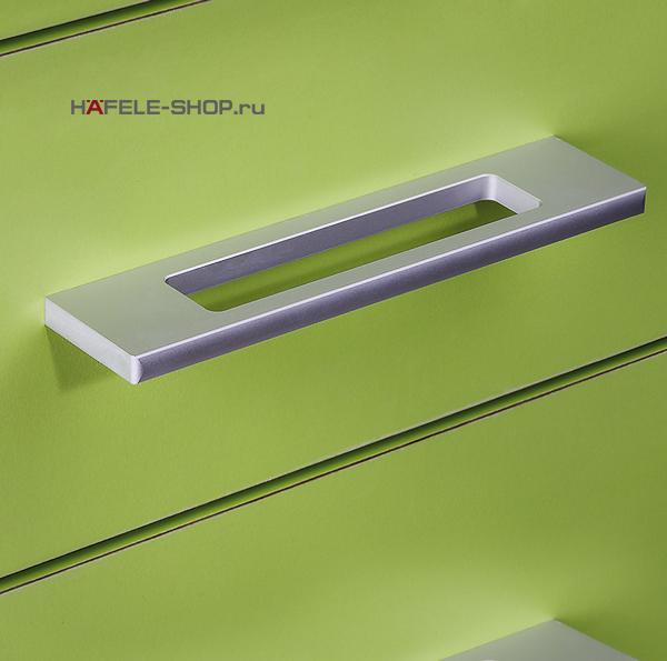 Мебельная ручка цвет нержавеющая сталь 300x40 мм