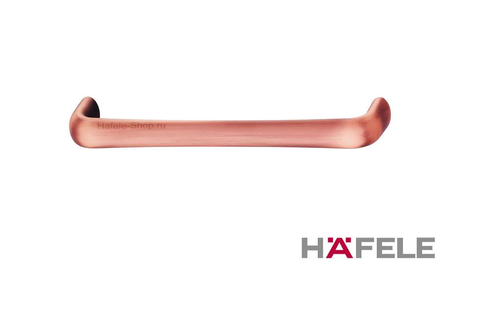 Ручка ретро, винтажный стиль, цвет античная медь, длина 172 мм, между винтами 160 мм