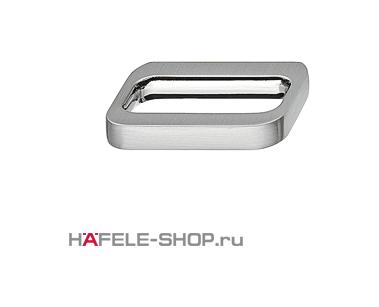 Мебельная ручка цвет нержавеющая сталь  44x32 мм