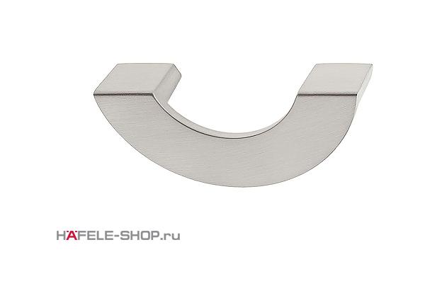 Мебельная ручка цвет нержавеющая сталь  91x39 мм