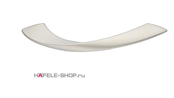 Мебельная ручка цвет никель матовый  150x34 мм