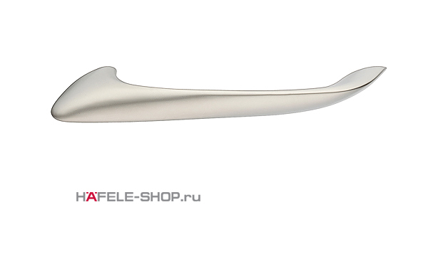 Мебельная ручка цвет никель матовый  164x26 мм
