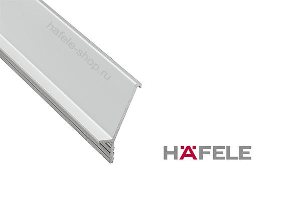 Ручка профиль, алюминий анодированный (E6/V1), цвет серебристый 2500 мм