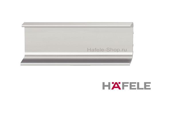 Мебельная ручка профиль, алюминий, цвет нержавеющая сталь, 2500 мм