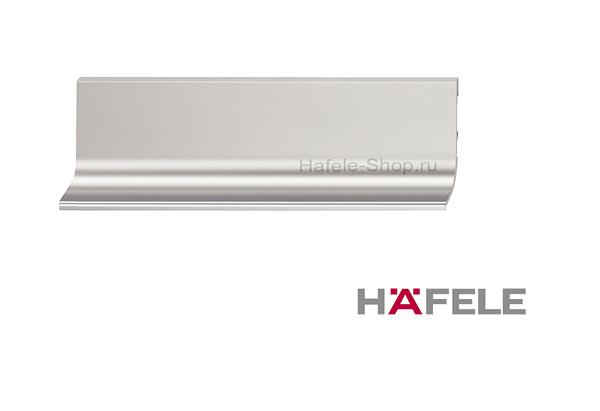Мебельная ручка профиль, материал алюминий, цвет нержавеющая сталь, 2500 мм