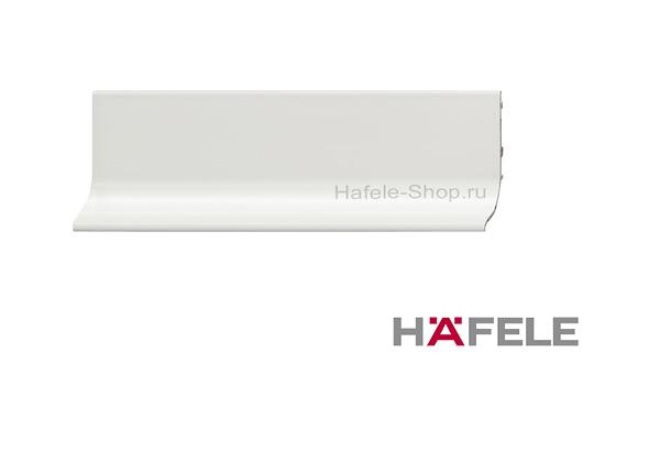 Мебельная ручка профиль, материал алюминий, цвет белый, 2500 мм