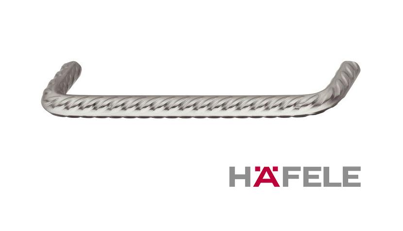 Мебельная ручка винтажная, нержавеющая сталь, 172,5 х 40 мм