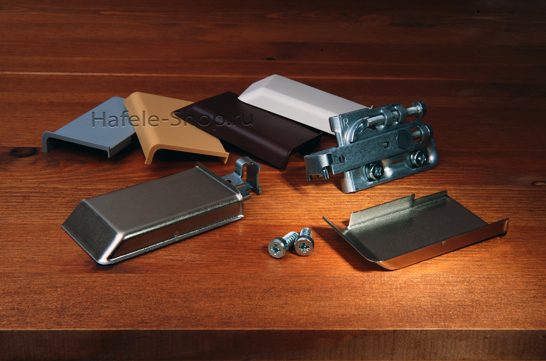 Заглушка навеса SCARPI-4 левая, серая RAL 9006