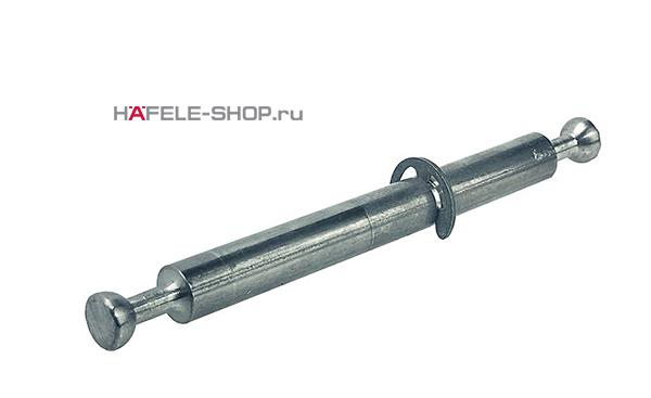 Двойной мебельный болт  со стопорным кольцом для MINIFIX 15  8/2х34 мм для 16 мм плиты