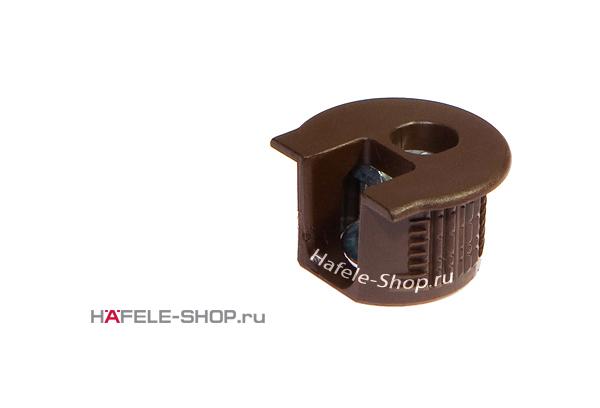 Стяжка мебельная RAFIX 20 коричневая для деталей толщиной от 16 мм