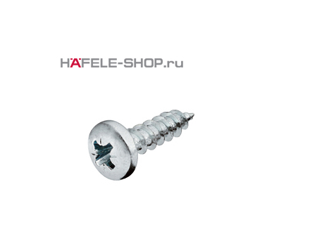 Шуруп HOSPA с полукруглой головкой оцинкованный 4,0x15 мм