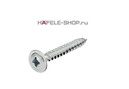 Шуруп  HOSPA с тарельчатой головкой для задней стенки оцинкованный 4х25 мм