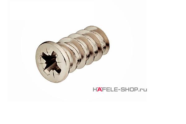 Винт мебельный VARIANTA никелированный с потайной головкой для отверстия 5 мм длина 13,5 мм