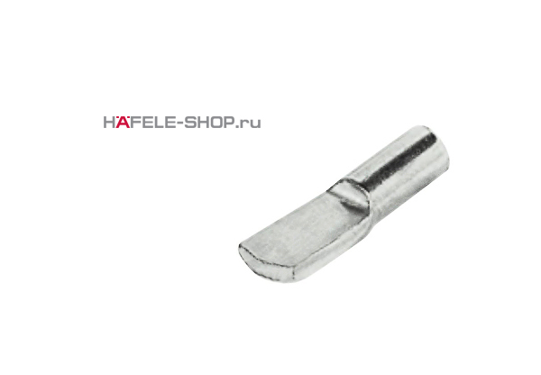Полкодержатель сталь никелированный 4 мм