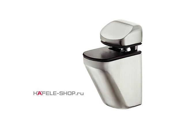 Зажимной полкодержатель, цвет алюминий RAL 9006 4-25 мм