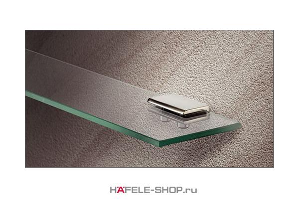 Полкодержатель, цвет хром полированный 8 мм