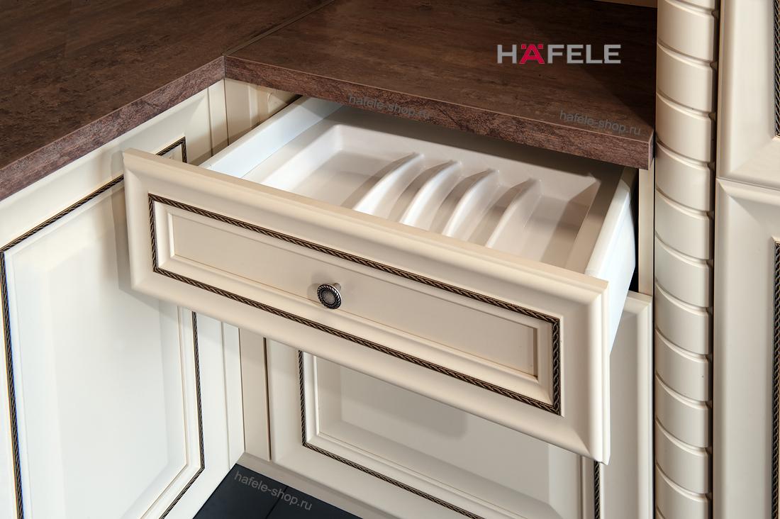 Вставка для столовых приборов, ширина шкафа 500-550 мм, белая