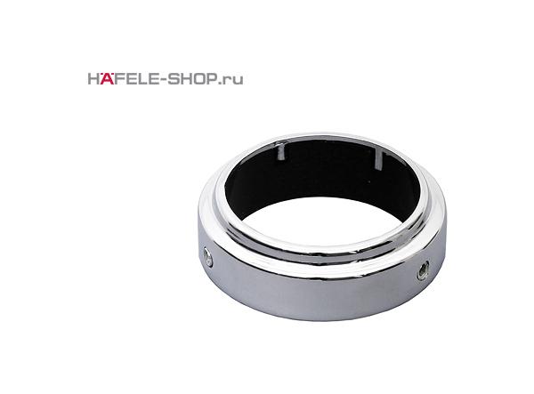 Фиксирующее кольцо барной стойки для полок. Цвет хром полированный.