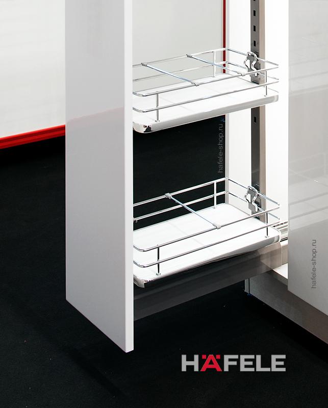 Выдвижная колонна в кухню, ELEGANCE, ширина фасада 400 мм, высота 1700 - 2000 мм