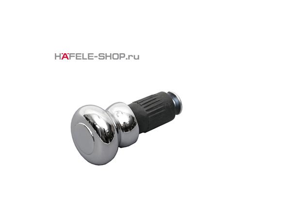 Заглушка для кухонного релинга ретро, цвет хром полированный